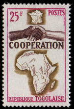 Togo 1964 African Co-Operation unmounted mint.