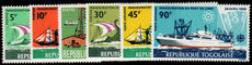 Togo 1968 Ships unmounted mint.
