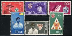 Togo 1961 Scouts set unmounted mint.