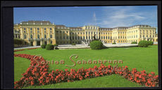 Vienna 1998 Schonbrunn Palace booklet fine used.