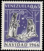 Venezuela 1966 Christmas unmounted mint.