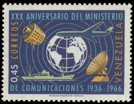 Venezuela 1966 Communications Ministry unmounted mint.