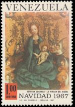 Venezuela 1967 Christmas Art unmounted mint.