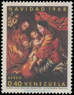 Venezuela 1968 Christmas Art unmounted mint.