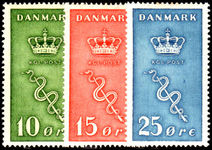 Denmark 1929 Cancer Research lightly mounted mint.