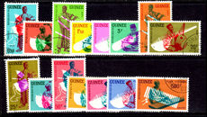 Guinea 1962 Native Musicians fine used