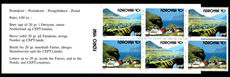Faroe Islands 1992 Nordic Co-Operation Booklet unmounted mint.
