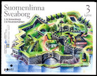 Finland 2006 Sveaborg Fortress Booklet unmounted mint.