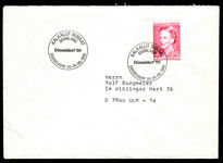 Greenland 1990 4kr On Dusseldorf '90 Cover