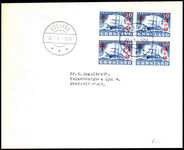 Greenland 1958 TB Relief Block Of 4 On First Day Cover
