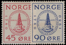 Norway 1960 Society of Sciences unmounted mint.
