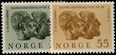 Norway 1964 Law of Mass Action unmounted mint.