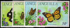 Anguilla 1971 Butterflies unmounted mint.