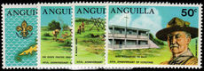 Anguilla 1970 Scouts unmounted mint.