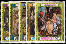 Anguilla 1970 Christmas unmounted mint.