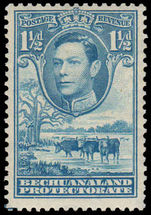 Bechuanaland 1938-52 1½d dull blue fine mint lightly hinged..