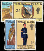 Falkland Islands 1970 Defense forces unmounted mint.