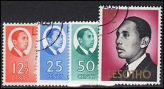 Lesotho 1969-69 values issued 30th Sept 1969 fine used.