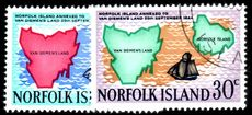 Norfolk Island 1969 Annexation fine used.