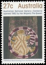Australia 1982 National Gallery unmounted mint.