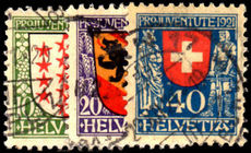 Switzerland 1921 Pro-Juventute fine used.
