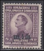 Yugoslavia 1924 5d on 8d mint lightly hinged