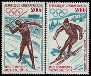 Central African Rep 1968 Olympics unmounted mint.