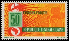 Central African Rep 1964 Europafrique unmounted mint.