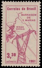 Brazil 1961 Hydro-Electric Station unmounted mint.