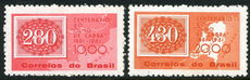 Brazil 1961 Stamp Centenary unmounted mint.