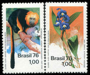 Brazil 1976 Nature Protection unmounted mint.