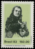 Brazil 1983 Martin Luther unmounted mint.