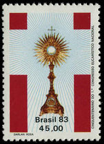 Brazil 1983 Eucharistic Congress unmounted mint.