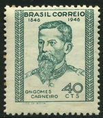 Brazil 1946 General Carniero lightly hinged mint.