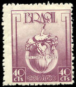 Brazil 1948 Anti-Cancer lightly hinged mint.
