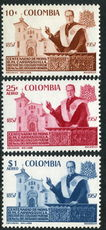 Colombia 1959 Monsegnior Carrasquilla unmounted mint.