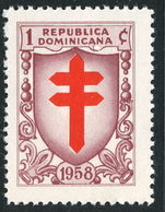 Dominican Republic 1958 Tuberculosis unmounted mint.