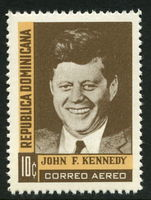 Dominican Republic 1964 J F Kennedy unmounted mint.