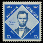 Dominican Republic 1963 Abraham Lincoln unmounted mint.