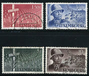 Luxembourg 1947 Patton set fine used