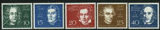 West Germany  1959 Beethoven Set unmounted mint.