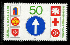 West Germany  1979 Road Rescue Services unmounted mint.
