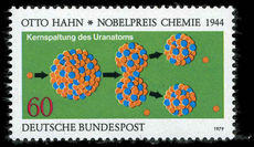 West Germany  1979 60pf Splitting The Atom unmounted mint.