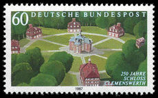 West Germany 1987 Clemenswerth Castle unmounted mint.