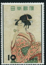 Japan 1955 Philatelic Week unmounted mint.