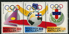 Netherlands Antilles 1992 Barcelona Olympics unmounted mint.