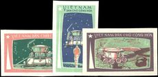 North Vietnam 1971 Luna 17 Space Flight imperf unmounted mint no gum as issued.