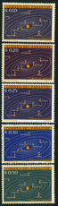 Paraguay 1962 Solar System Space part set unmounted mint.