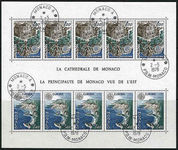 Monaco 1978 Europa souvenir sheet first day fine used